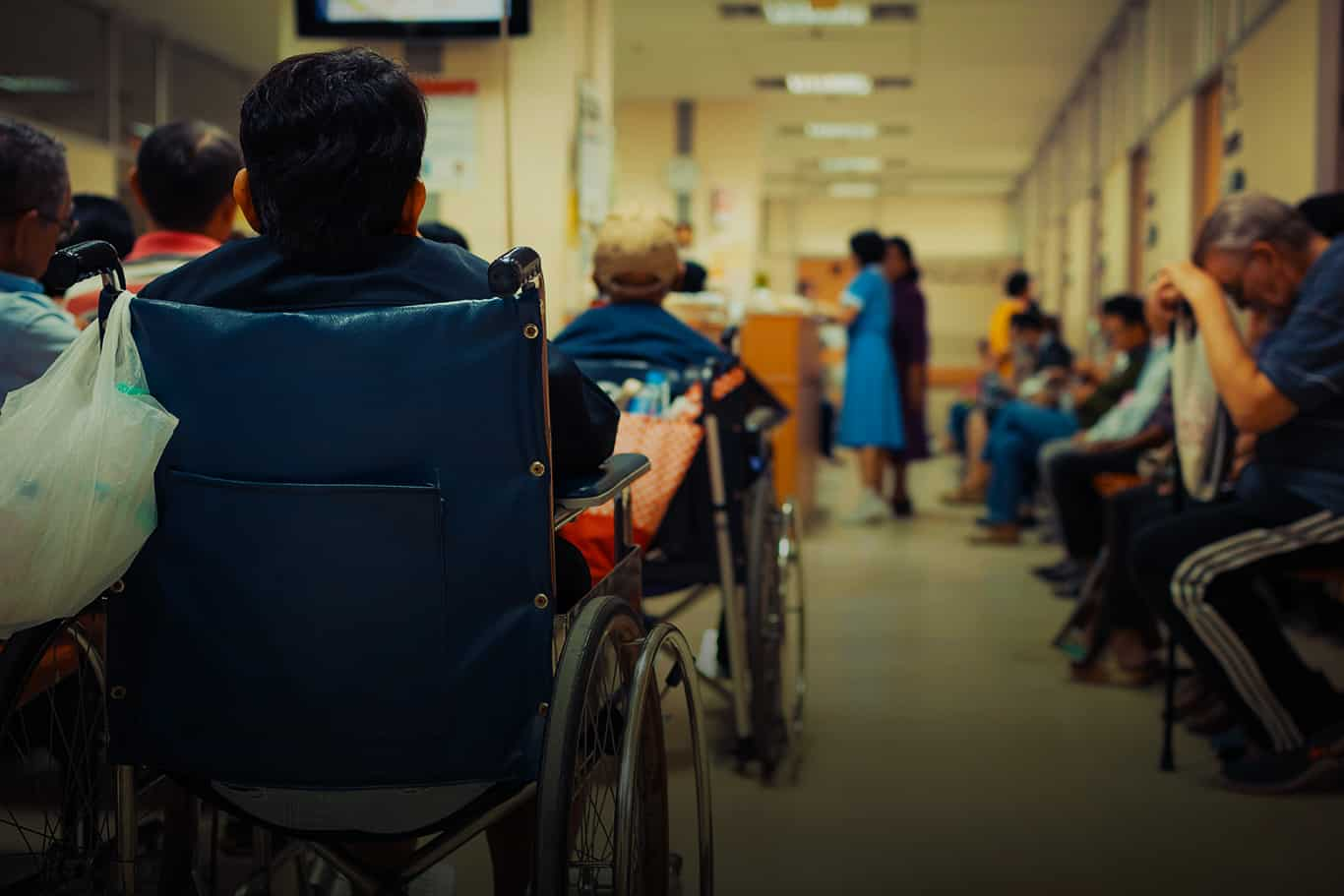Image result for problems with the nhs 2016 waiting room pics
